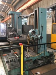 Tos W100a Horizontal Boring Machine
