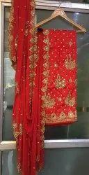 Red Bridal Heavy Designer Salwar Kameez