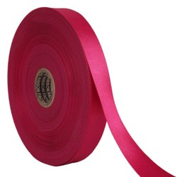 Double Satin NR - Light Magenta Ribbons 25mm/1''Inch 20mtr Length
