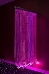 DIY Fiber Optic Curtain Light