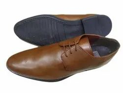 Brown Formal Mens Leather Shoes