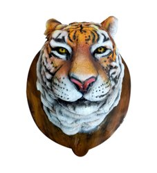Tiger Head Wall Mural