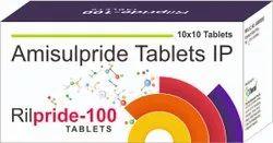 Amisulpride 100 Mg Tablets (Rilpride 100)