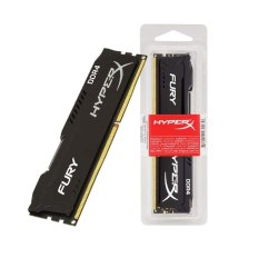 HyperX Fury Black 8 GB CL15 DIMM DDR4 Internal Memory