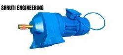 Shruti Foot Mounted AC Gear Motor With Brake, Voltage: 440