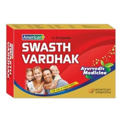 American Swastha Vardhak, 3 X 20 Capsules
