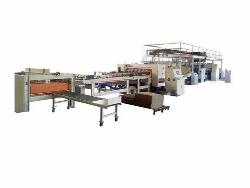 Automatic 2 Ply Corrugated Box Making Machinery
