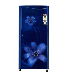 3 Star Blue Floral Panasonic NR-A193VFAX1 Single Door Refrigerator, Capacity: 194 Liters