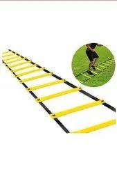 黄色尼龙健身健身梯子