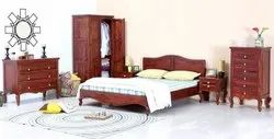 Antique Brown Wooden Bedroom Furniture, For Home