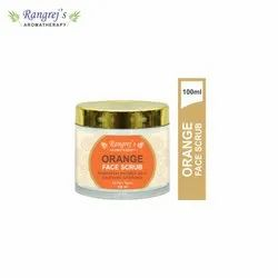 Rangrej''s Aromatherapy Orange  Face Scrub For Radiant Glowing Skin 100ml