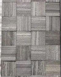 M. Black Line - ShotBlast   Brushed Tiles