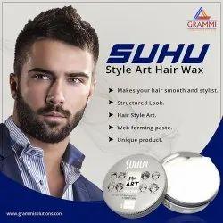 Suhu Style Art Hair Wax, Type Of Packaging: Jar, Cream