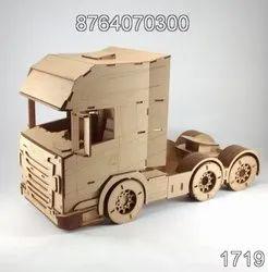 Truck Shape Wooden Toys