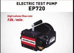 HIGH PRESSURE - ELECTRIC TEST  PUMP