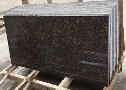 Polished Big Slab Natural Brown Granite Slabs, For Flooring, Thickness: 18 mm