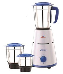 Bajaj Pluto Mixer Grinder, 500W, 3 Jars, For Wet & Dry Grinding, 500WT