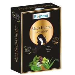 Black Henna Powder, For Hair, Packaging Size: 50 G
