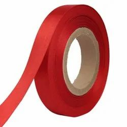 Double Satin NR - Crimson Red Ribbons25mm/1Inch 20mtr Length
