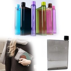 Kitchen Storage A5 Size Notebook Plastic Bottle
