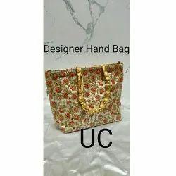 Embroidery Cotton Ladies Designer Handbag