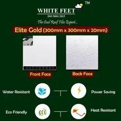 Cool Roof Tile - White Feet Tile - Elite Gold