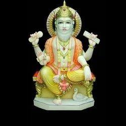 Lord Shri Vishwakarma Gold Touch Statue