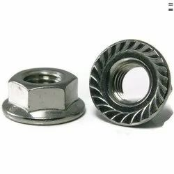 Stainless Steel Hexagonal Flange Nut