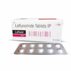 Lefwar Leflunomide Tablet, For Rheumatoid Arthritis