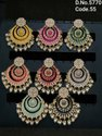 Kundan & Pearl Studded Jhumki Earring