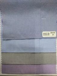 58 Inches Checked Dhamaka Check Fabric, For Garments, GSM: 150