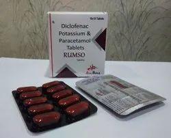 Diclofenac 50mg & Paracetamol 325mg Tablet Doctors,Hospitals&Nursing Homes