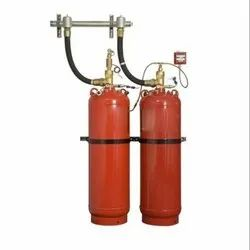 CO2 Based Mild Steel Fire Suppression System, For Industrial, Capacity: 5Kg