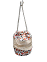 Cosmetic Rope Closure Bag