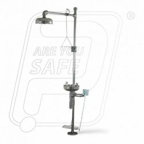 Safety Shower Complete With Eye Wash UDYOGI