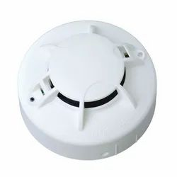Fire Alarm Panel Dc Photoelectric ABS Plastic Smoke Detector, For Office Buildings