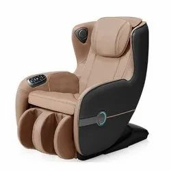 Brown Pu Leather IRest Massage Chair SLA 158, For Saloon, Fixed