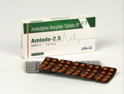 Amlodipine 2.5 mg