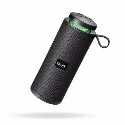 Black FPX UFO Portable Bluetooth Speaker with Super Bass Voice