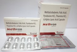 Methylocobalamin and Alpha Lipoic Acid Capsules