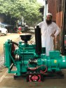 40 Kva Tata Open Diesel Generator Set.