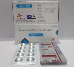 Aceclofenac 325mg & Thiocolchicoside 8mg Tablet For Doctors,Hospitals&Nursing Homes