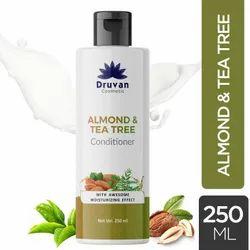 Druvan Almond Tea Tree Hair Conditioner, Packaging Size: 250 mL