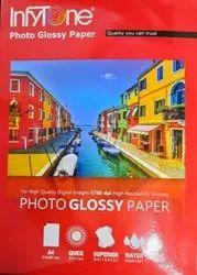 INFYTONE GLOSSY PAPER 180GSM 4R SIZE