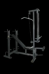 Nova King Nk-18 Multi Purpose Bench With Lats & Biceps