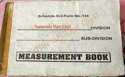 English Measurement Book, Civil Work