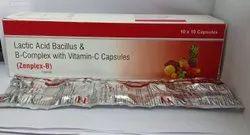 B-Complex With Vitamin C And Lactic Bacillus Acid