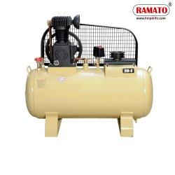 RMT-8S 2 HP 2 Piston Single Stage Air Compressor With 80 LTR Tank
