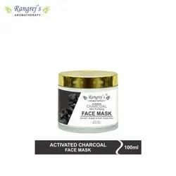 Rangrej''s Aromatherapy Activated Charcoal Face Mask for Glowing & Brightening Skin 100ml