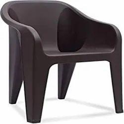 2300 Grams Nilkamal Eeezy Chair Mid Back With Arm (Peach)